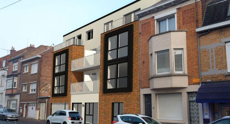 Résidence « Jeanne » programme immobilier neuf en Loi Pinel à Lille