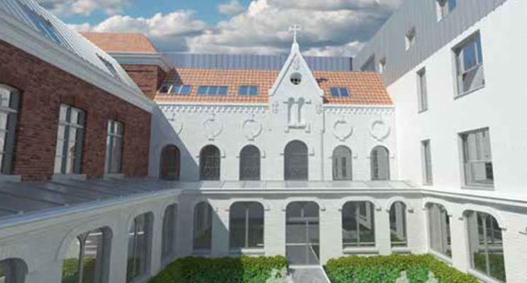 Résidence « Le Cloître » programme immobilier à rénover en Loi Pinel ancien à Lille n°2