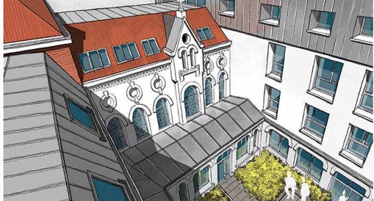 Résidence « Le Cloître » programme immobilier à rénover en Loi Pinel ancien à Lille n°3