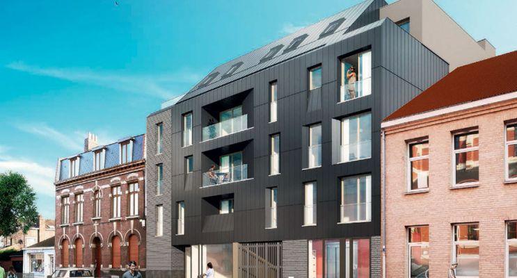 Photo du Résidence « Le Parvis » programme immobilier neuf en Loi Pinel à Lille