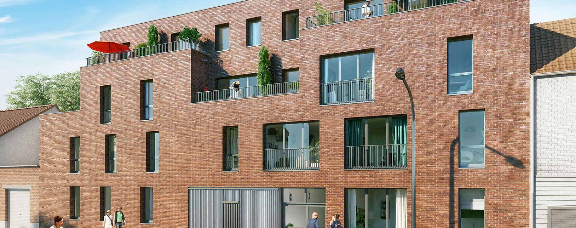 Lille : programme immobilier neuve « Les Jardins Bo'Tanic »