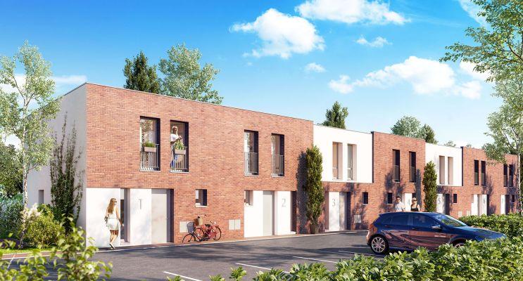 Résidence « Les Jardins Bo'Tanic » programme immobilier neuf en Loi Pinel à Lille n°2