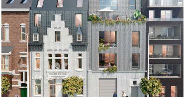Lille programme immobilier neuf « Les Villas de la Visserie » en Loi Pinel