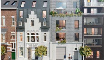 Résidence « Les Villas De La Visserie » programme immobilier neuf en Loi Pinel à Lille n°1