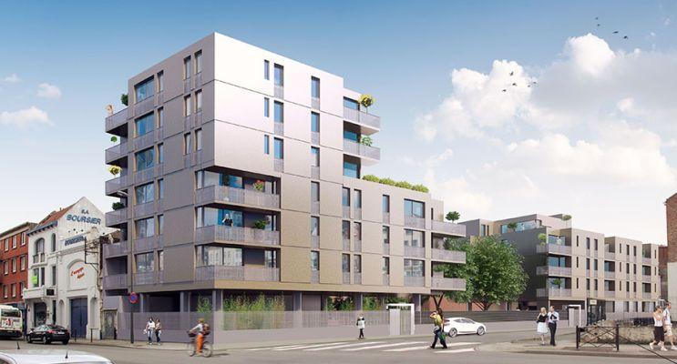 Résidence « Lill'Even » programme immobilier neuf en Loi Pinel à Lille