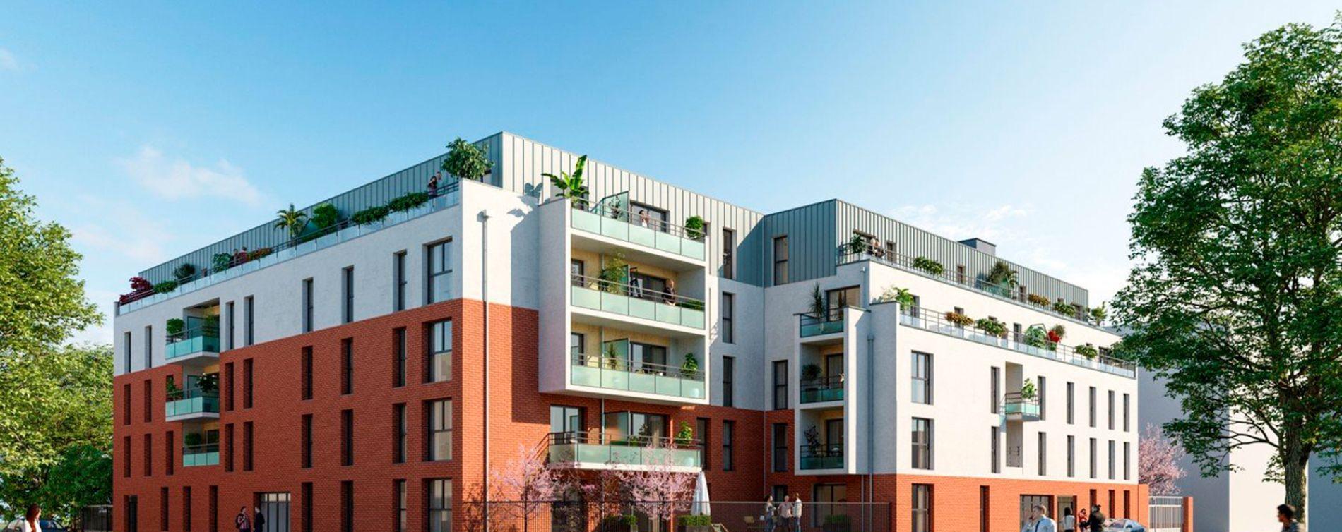 Lille : programme immobilier neuve « L'Interlude » en Loi Pinel