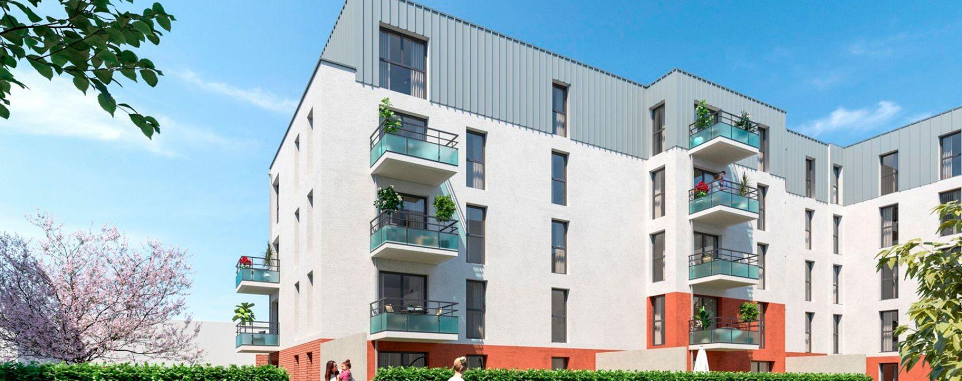 Lille : programme immobilier neuve « L'Interlude » en Loi Pinel (2)