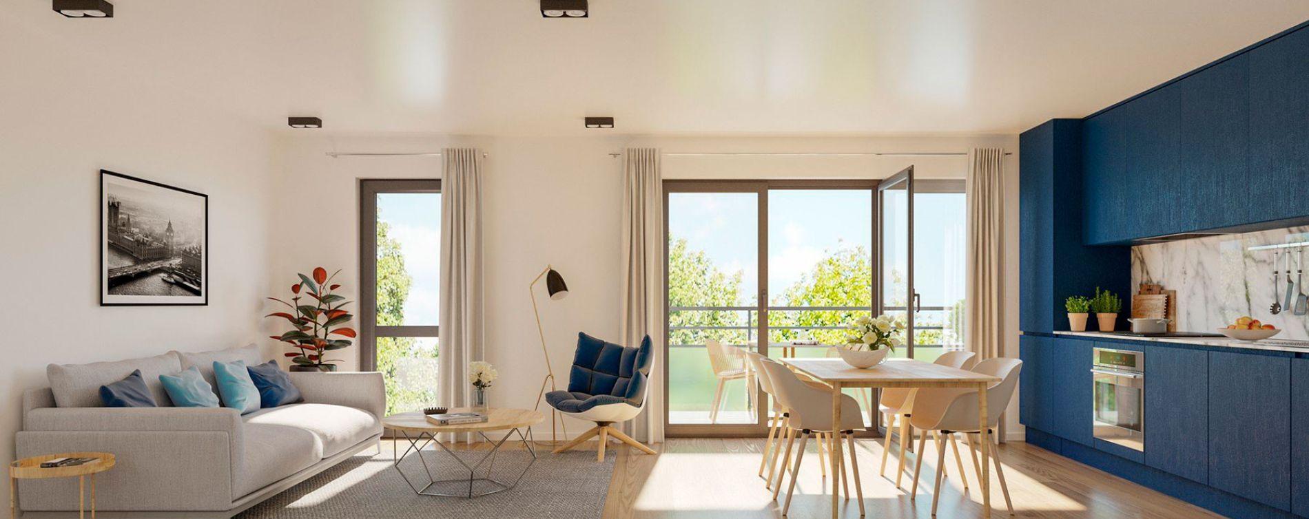 Lille : programme immobilier neuve « L'Interlude » en Loi Pinel (3)