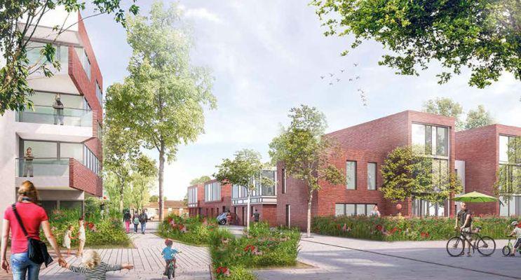 Photo du Résidence « Neo Village » programme immobilier neuf à Lille
