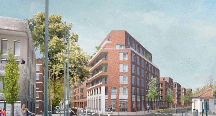 Photo du Résidence « Parenthèse Verte » programme immobilier neuf en Loi Pinel à Lille