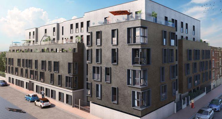 Résidence « Pavillon Du Jardin Des Plantes » programme immobilier neuf en Loi Pinel à Lille n°1