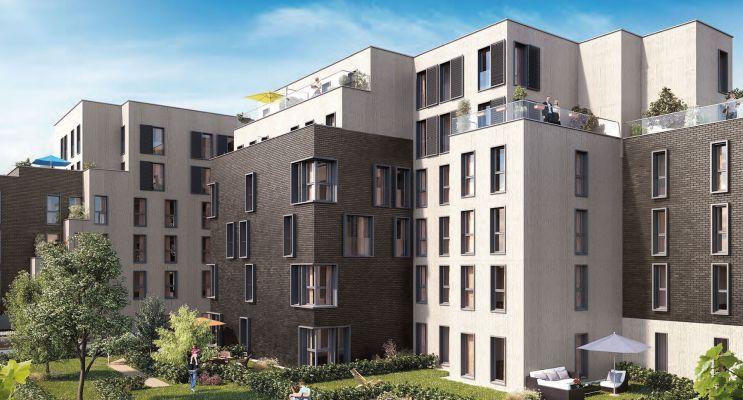 Résidence « Pavillon Du Jardin Des Plantes » programme immobilier neuf en Loi Pinel à Lille n°2