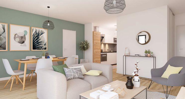 Résidence « Qwest » programme immobilier neuf en Loi Pinel à Lille n°1