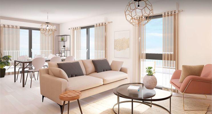 Résidence « Qwest » programme immobilier neuf en Loi Pinel à Lille n°3