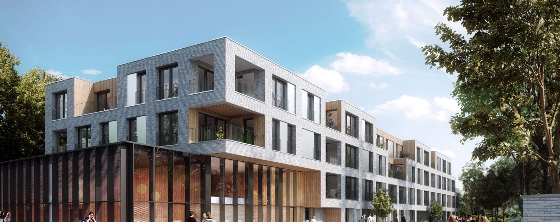 Lille : programme immobilier neuve « Saint-Martin » en Loi Pinel