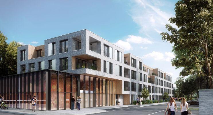 Lille : programme immobilier neuf « Saint-Martin » en Loi Pinel