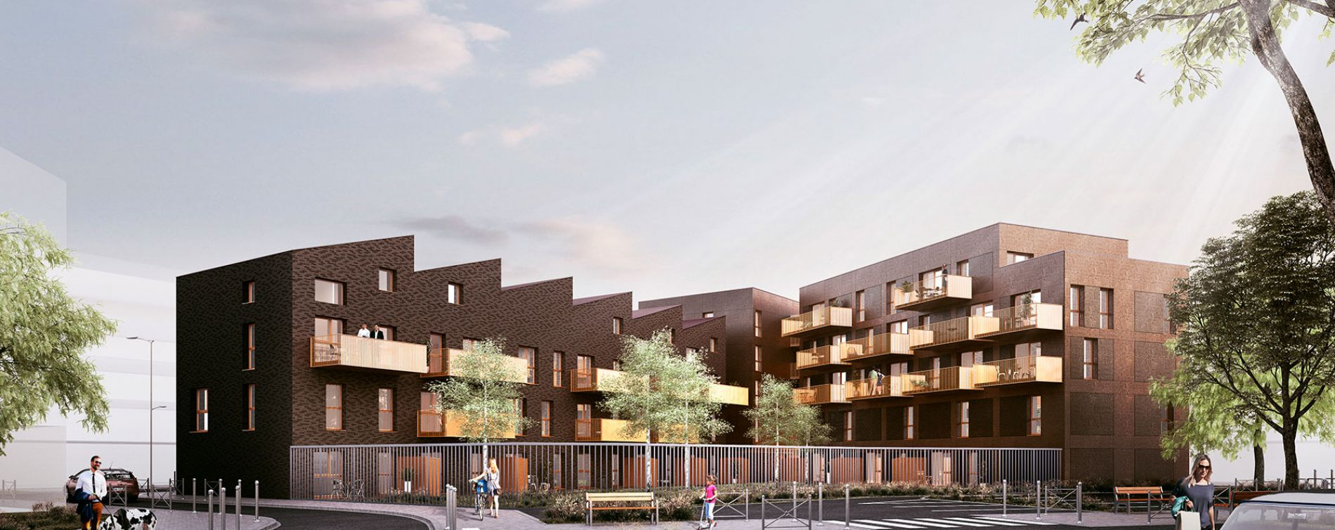Lille : programme immobilier neuve « So Home »