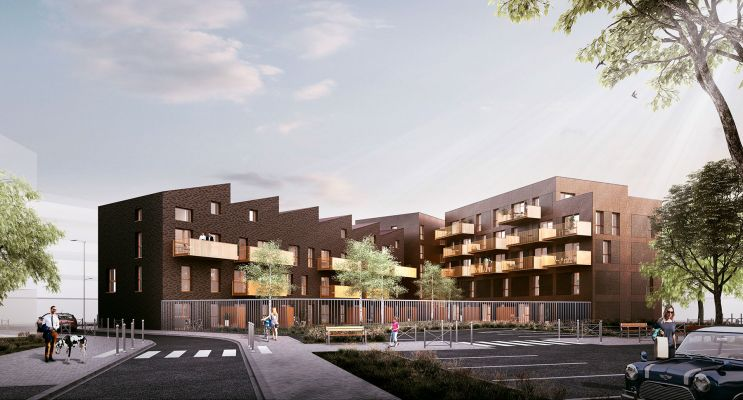 Photo du Résidence « So Home » programme immobilier neuf en Loi Pinel à Lille
