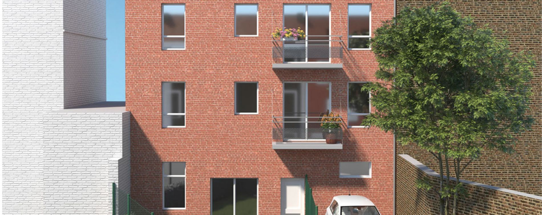 Lille : programme immobilier neuve « Urban Square » en Loi Pinel