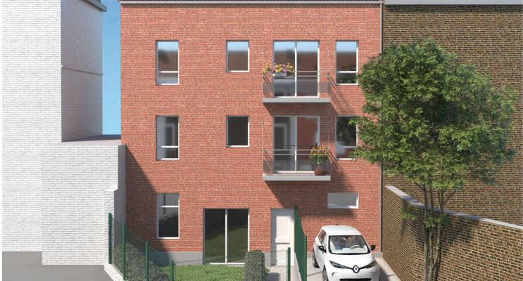 Lille : programme immobilier neuf « Urban Square » en Loi Pinel