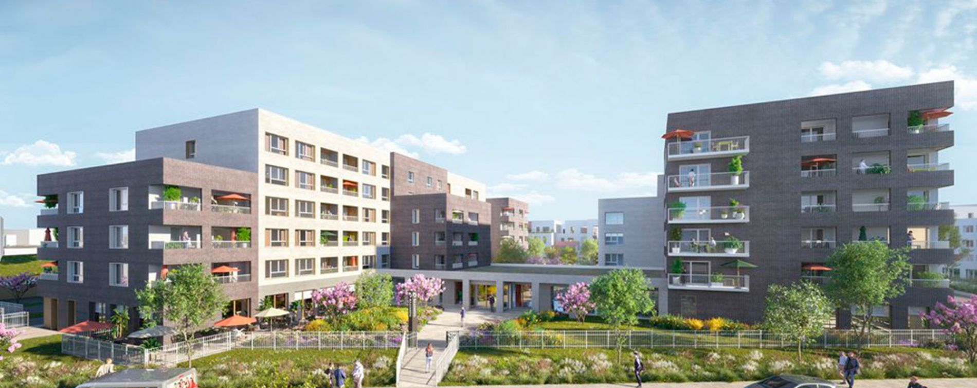 Lille : programme immobilier neuve « Villa Ulma »