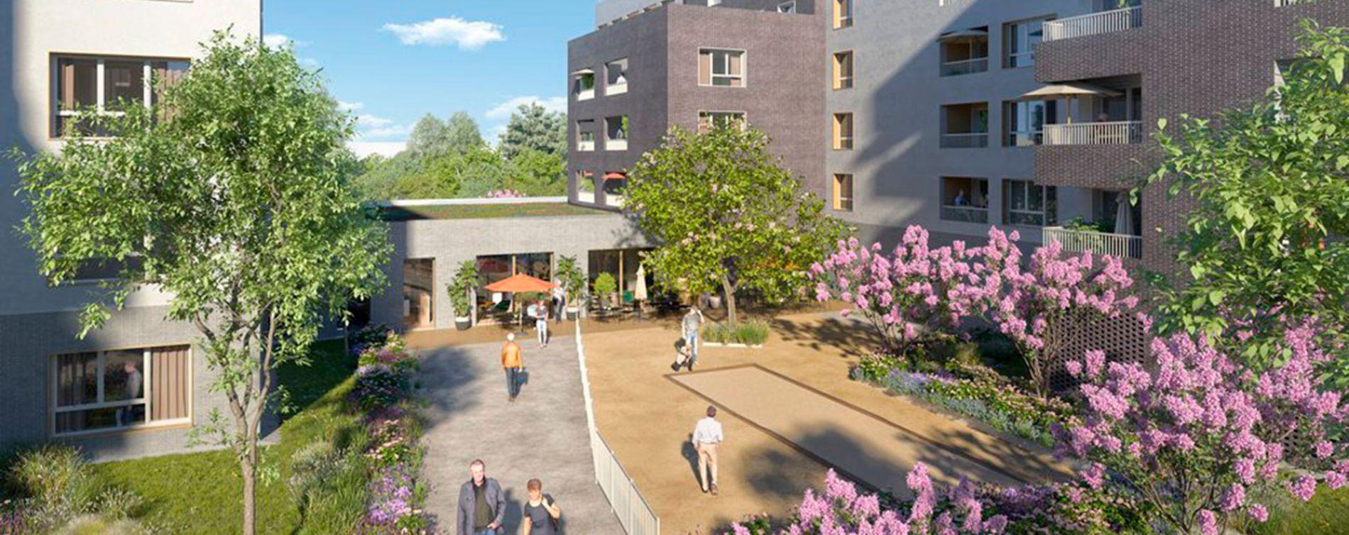 Lille : programme immobilier neuve « Villa Ulma » (2)