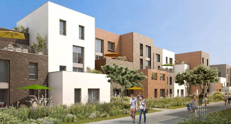 Lille : programme immobilier neuf « Vill'Arborea » en Loi Pinel