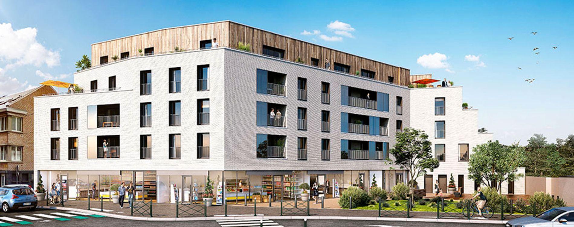 Loos : programme immobilier neuve « Epure » en Loi Pinel