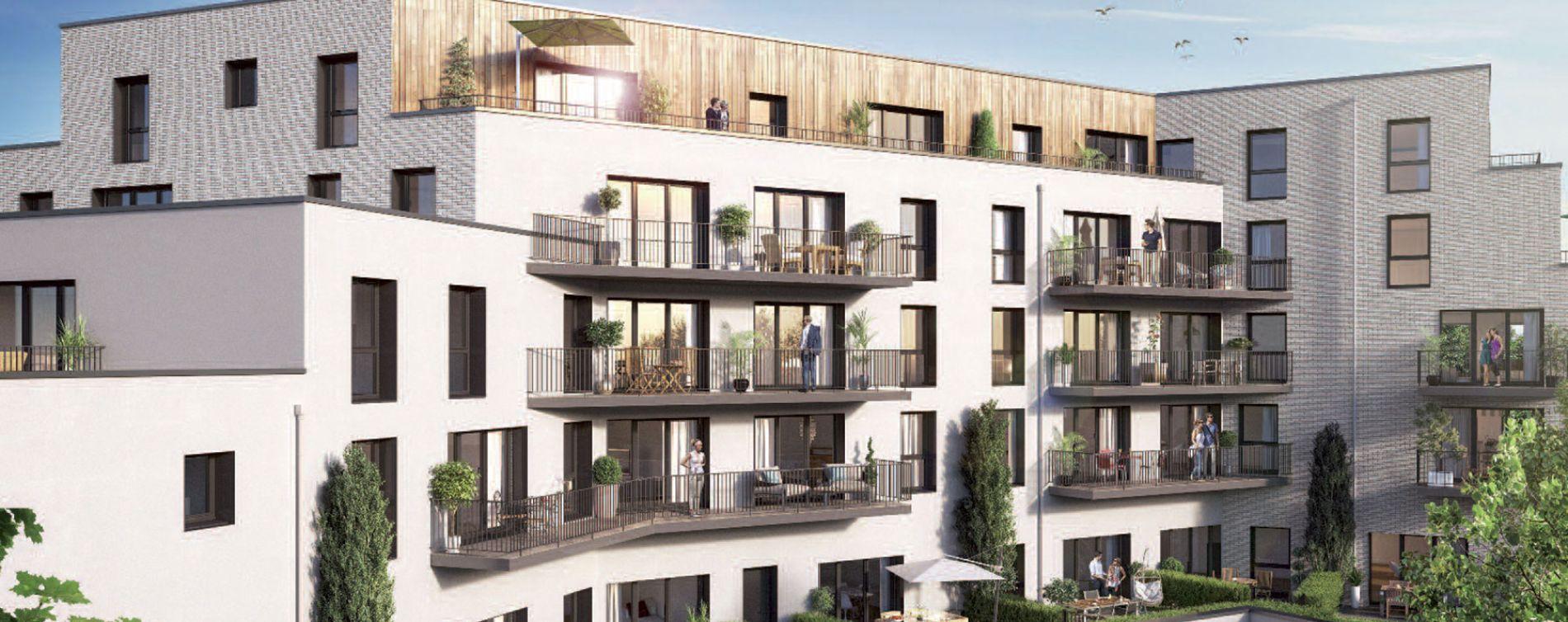 Loos : programme immobilier neuve « Epure » en Loi Pinel (2)