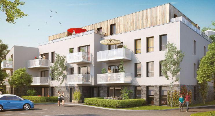 Résidence « Moove » programme immobilier neuf en Loi Pinel à Loos n°2