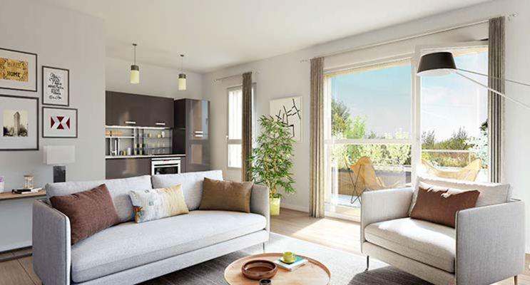 Résidence « Moove » programme immobilier neuf en Loi Pinel à Loos n°3