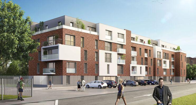 Résidence « Villa Margot » programme immobilier neuf en Loi Pinel à Loos n°1