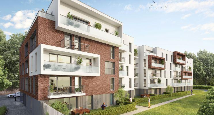 Résidence « Villa Margot » programme immobilier neuf en Loi Pinel à Loos n°3