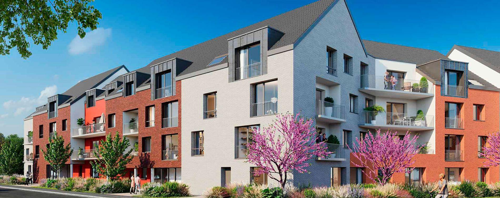 Lys-lez-Lannoy : programme immobilier neuve « Le Vert Pré » (2)