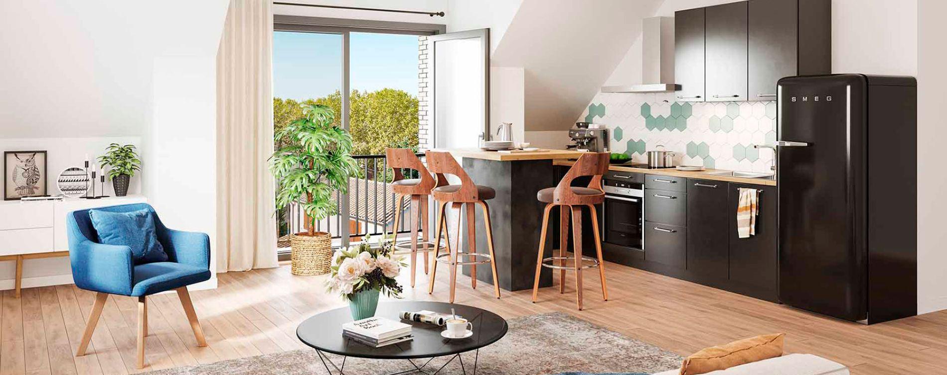 Lys-lez-Lannoy : programme immobilier neuve « Le Vert Pré » (3)