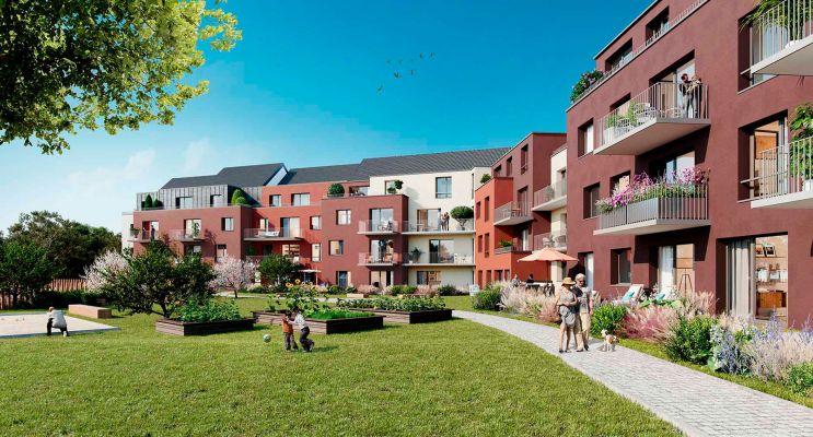 Photo du Résidence « Le Vert Pré » programme immobilier neuf en Loi Pinel à Lys-lez-Lannoy