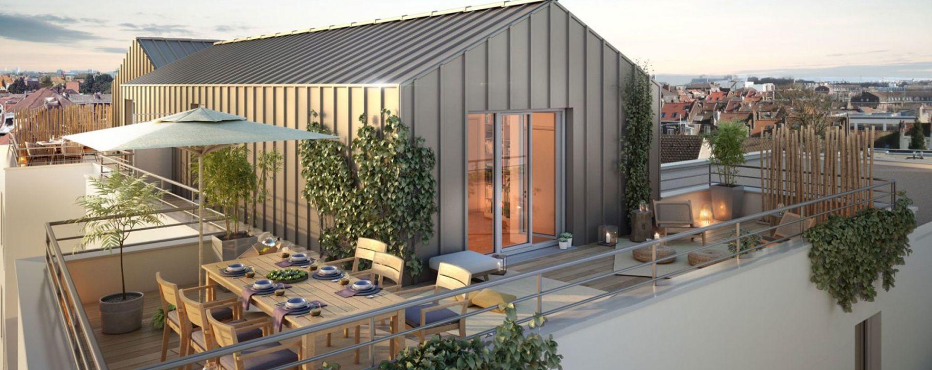 Marcq-en-Barœul : programme immobilier neuve « Elégance » en Loi Pinel