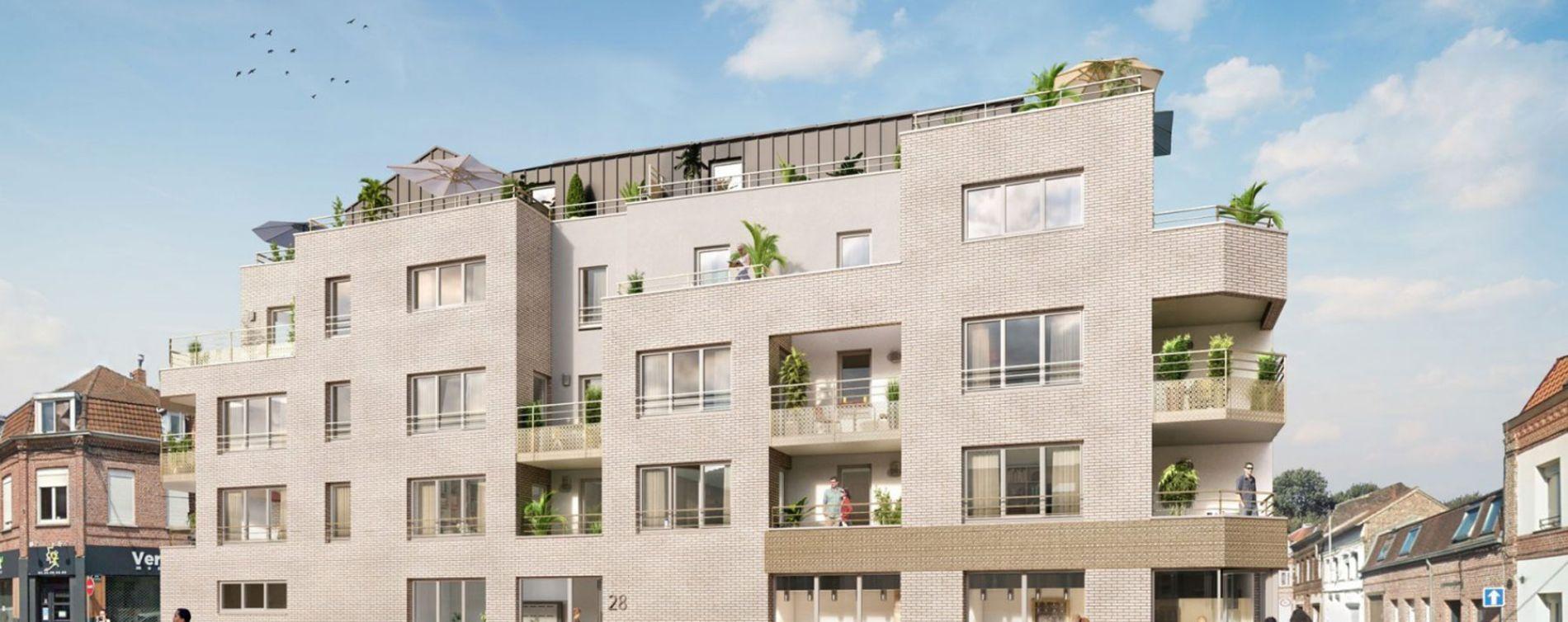 Marcq-en-Barœul : programme immobilier neuve « Elégance » en Loi Pinel (2)