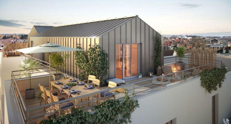 Photo du Résidence « Elégance » programme immobilier neuf en Loi Pinel à Marcq-en-Barœul