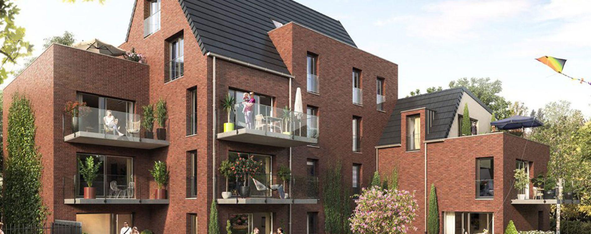 Marcq-en-Barœul : programme immobilier neuve « La Villa Buisson »