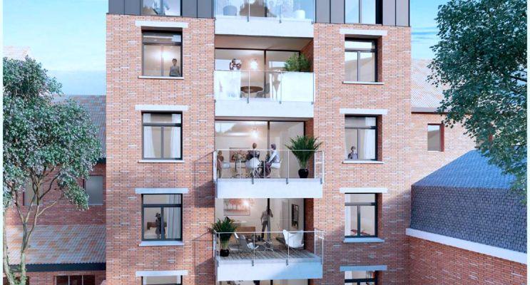 Résidence « Le Croisé » programme immobilier neuf en Loi Pinel à Marcq-en-Barœul n°2
