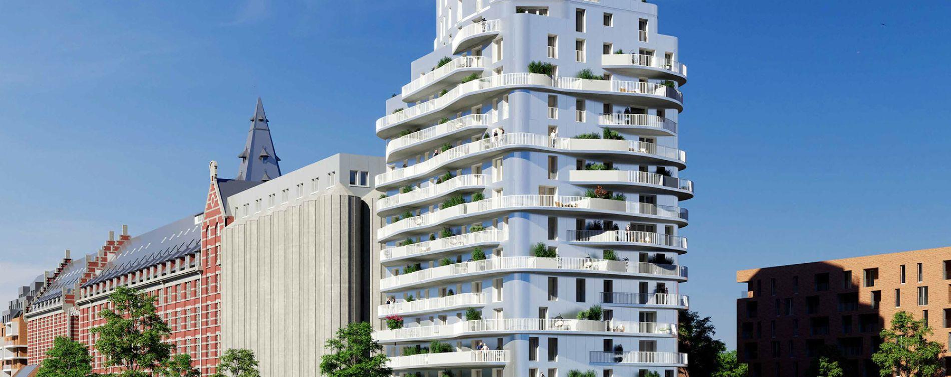 Résidence Brooklin Tower à Marquette-lez-Lille