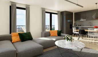 Résidence « Brooklin Tower » programme immobilier neuf en Loi Pinel à Marquette-lez-Lille n°3