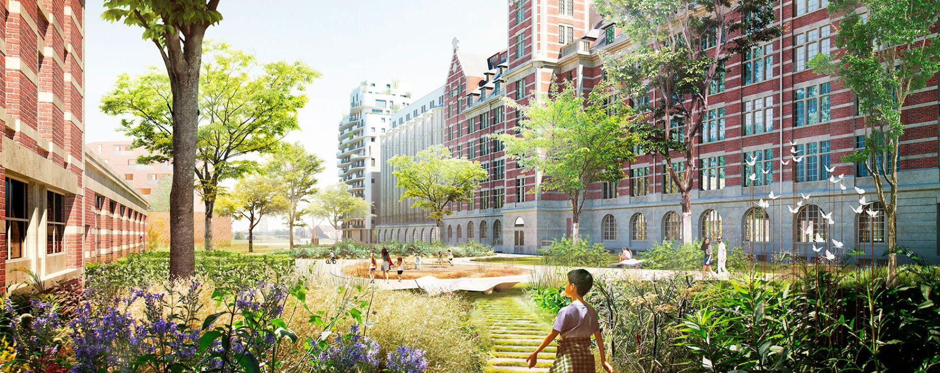 Marquette-lez-Lille : programme immobilier à rénover « Les Grands Moulins – Magasins » en Monument Historique (4)