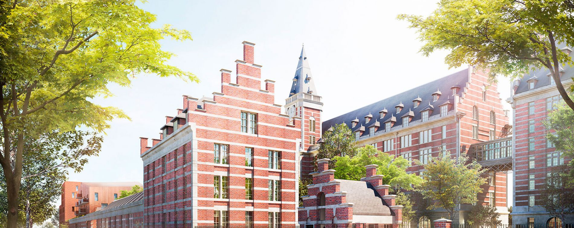 Marquette-lez-Lille : programme immobilier à rénover « Les Grands Moulins – Phase 2 » en Déficit Foncier (2)