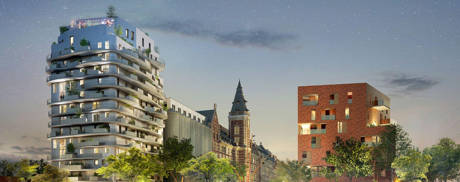Marquette-lez-Lille : programme immobilier à rénover « Les Grands Moulins » en Monument Historique (3)