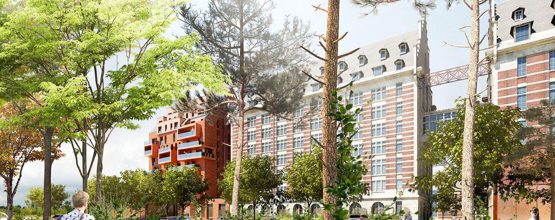 Marquette-lez-Lille : programme immobilier à rénover « Les Grands Moulins » en Monument Historique (5)