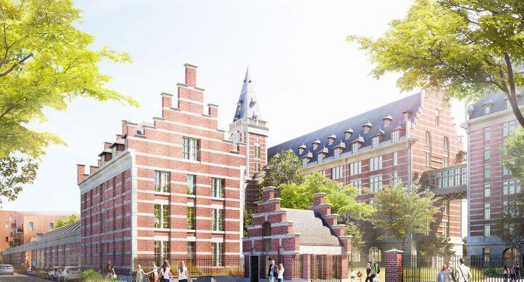 Photo du Résidence « Les Grands Moulins » programme immobilier à rénover en Monument Historique à Marquette-lez-Lille