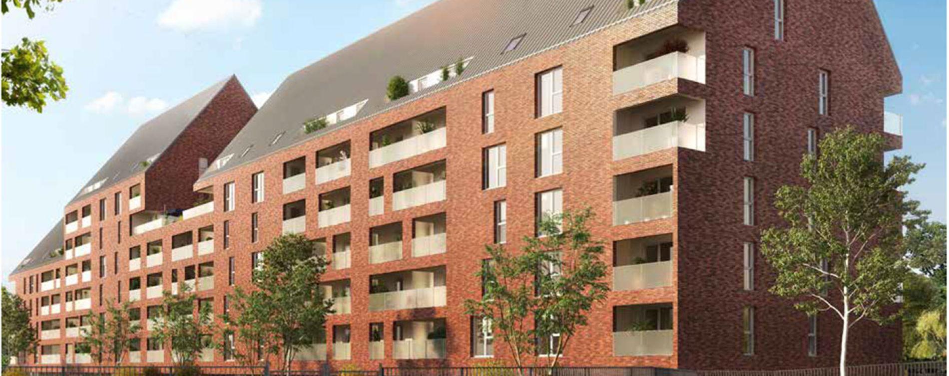 Marquette-lez-Lille : programme immobilier neuve « Milleo » en Loi Pinel (3)