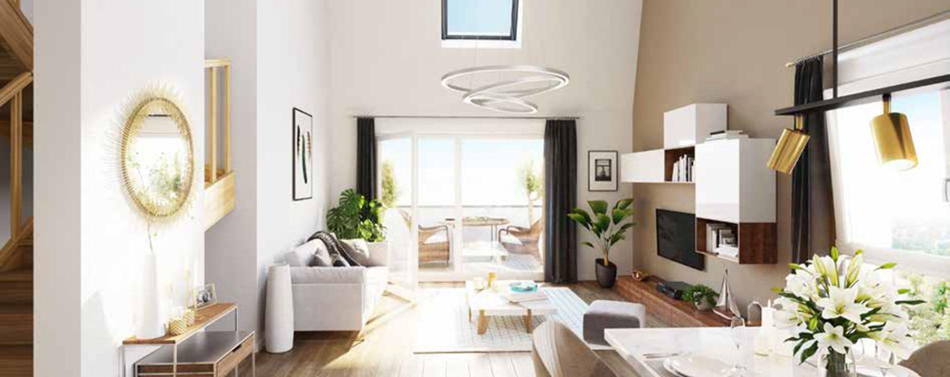 Marquette-lez-Lille : programme immobilier neuve « Milleo » en Loi Pinel (4)